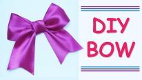 Diy Make Simple Easy Bow Satin Ribbons Beauty