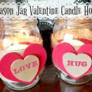 Diy Mason Jar Valentine Candle Holders Balancing Chaos