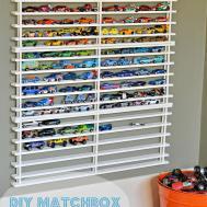 Diy Matchbox Car Garage Behold Life
