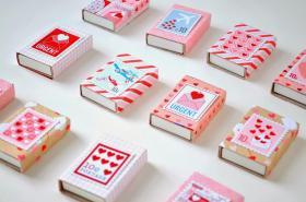 Diy Matchbox Valentine Party Favors