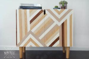 Diy Mid Century Modern Media Cabinet Huntress