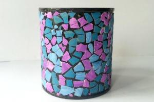 Diy Mirror Mosaic Pencil Holder Craftbnb