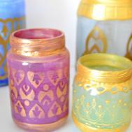 Diy Moroccan Votive Candle Lanterns Smallfineprint