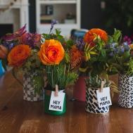 Diy Mother Day Flower Arrangements Vases Freebies