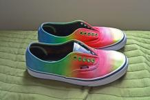 Diy Ombre Vans Rainbow Shoes