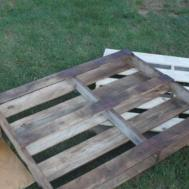Diy Outdoor Dining Table Wood Pallets Hometalk