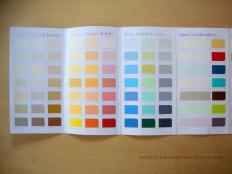 Diy Paint Chip Desk Calendar Lakshmim Lakshmi