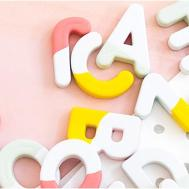 Diy Paint Dipped Alphabet Magnets Popsugar Home Australia