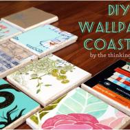 Diy Painted Cork Coasters Inexpensive Gift Idea