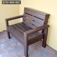 Diy Pallet Bench Better Built