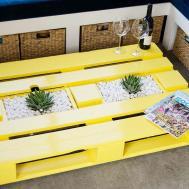 Diy Pallet Coffee Table Planter Boxes Kiwi Families