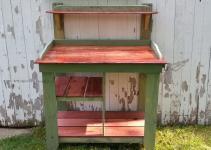 Diy Pallet Maple Potting Bench Furniture Plans