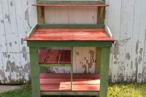 Diy Pallet Maple Potting Bench Furniture Plans