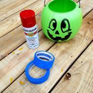 Diy Personalized Halloween Pumpkin Bucket Exploring
