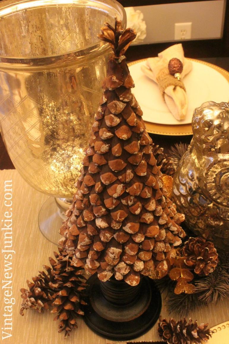 Diy Pinecone Christmas Tree Vintage News Junkie