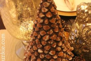 Diy Pinecone Christmas Tree Vintage News Junkie
