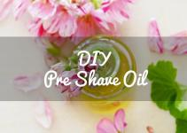 Diy Pre Shave Oil Men Women Castor Guide