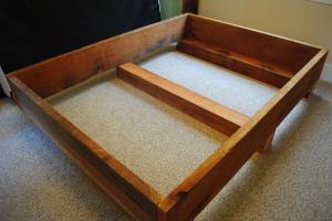 Diy Project Redwood Bed Frame Transmigration