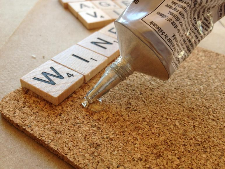 Diy Project Scrabble Coasters Gourmet Gab