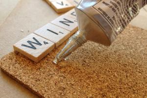Diy Project Scrabble Coasters Gourmet Gab