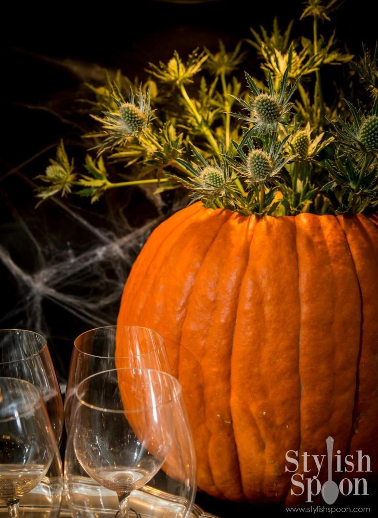 Diy Pumpkin Vase Centerpiece Halloween