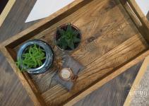 Diy Reclaimed Wood Tray West Elm Knockoff Huntress
