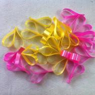 Diy Ribbon Heart Wreath Valentine Decorations