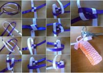 Diy Ribbon Keychain Craft Projects