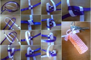 Diy Ribbon Keychain Craft Projects