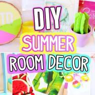 Diy Room Decor Summer Easy Fun Minutes Crafts