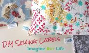 Diy Sewing Labels Imagine Our Life