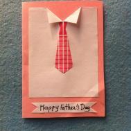 Diy Shirt Tie Father Day Card Createsie
