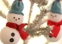 Diy Snowmen Ornaments