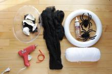 Diy Spider Nest Wreath Wholesale Halloween Costumes Blog