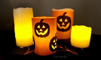 Diy Spooky Halloween Candles Quick Easy Links