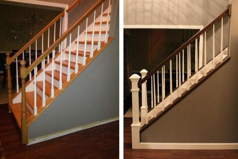 Diy Staircase Makeover Style Files