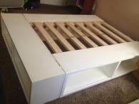 Diy Storage Beds Railing Stairs Kitchen