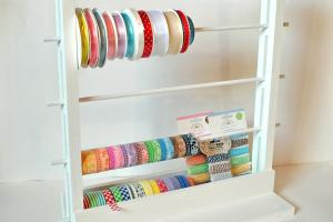 Diy Storage Ribbons Washi Tapes Make