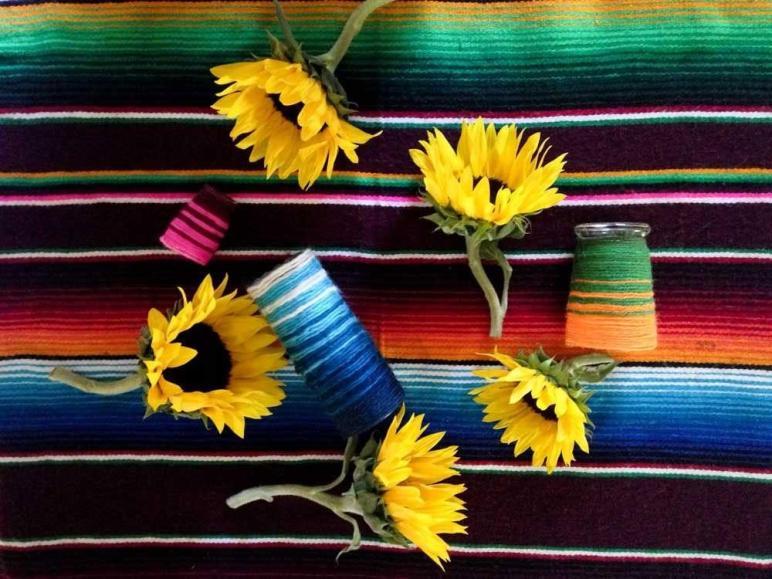 Diy Striped Flower Vase Wise Craft Handmade