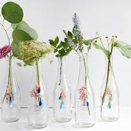 Diy Tassel Charm Flower Vase