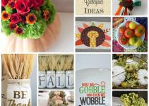 Diy Thanksgiving Centerpiece Ideas Block Party Rae