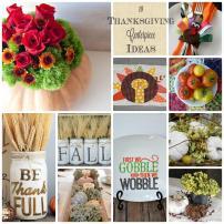 Diy Thanksgiving Centerpiece Ideas Block Party Rae