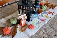 Diy Thanksgiving Table Runner Crafts Seasonal Holiday