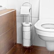 Diy Toilet Paper Stand Doorknobs Homy Design