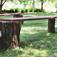 Diy Tree Stump Benches Diys