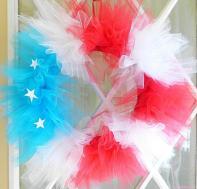 Diy Tutorial Fourth July 4th Wreath