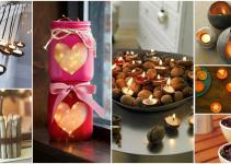 Diy Unique Candle Holder Ideas Warm Romantic Winter Nights
