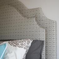Diy Upholstered Headboard Love Shape One