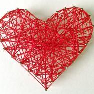 Diy Valentines Day Room Decor Gift Ideas String