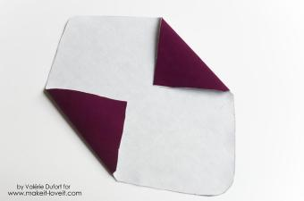 Diy Velours Envelope Clutch Tutorial Make Love